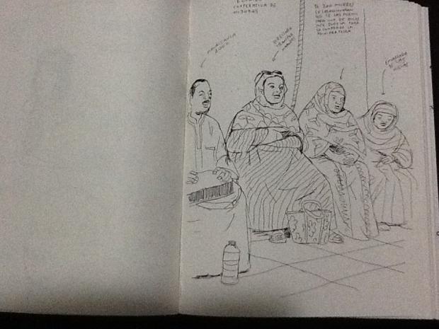Paco Roca – cooperativa mujeres - Mauritania