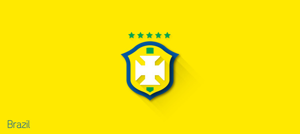 flat design - FIFA – Brasil