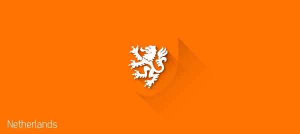 flat design - FIFA – Netherlands