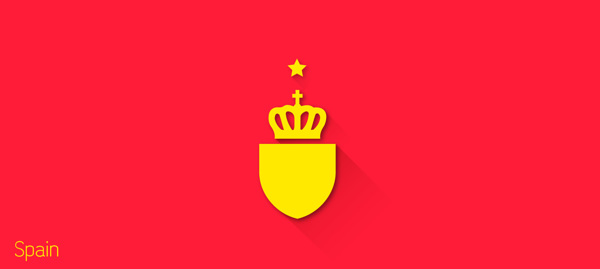 flat design - FIFA – España