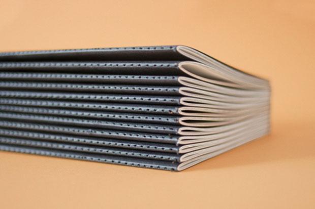 Imprenta: el reto del cosido con hilo - portfolio Ana V. Francés
