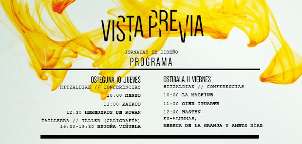 Jornadas de diseño en Bilbao Vista Previa