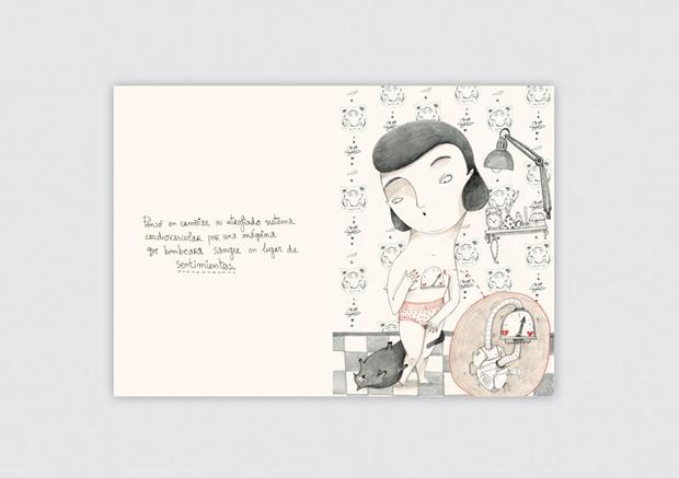 Amaia Arrazola – ilustración del libro Corazón Robot