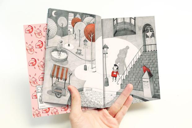 AmaiaArrazola – ilustraciones del libro Corazón Robot