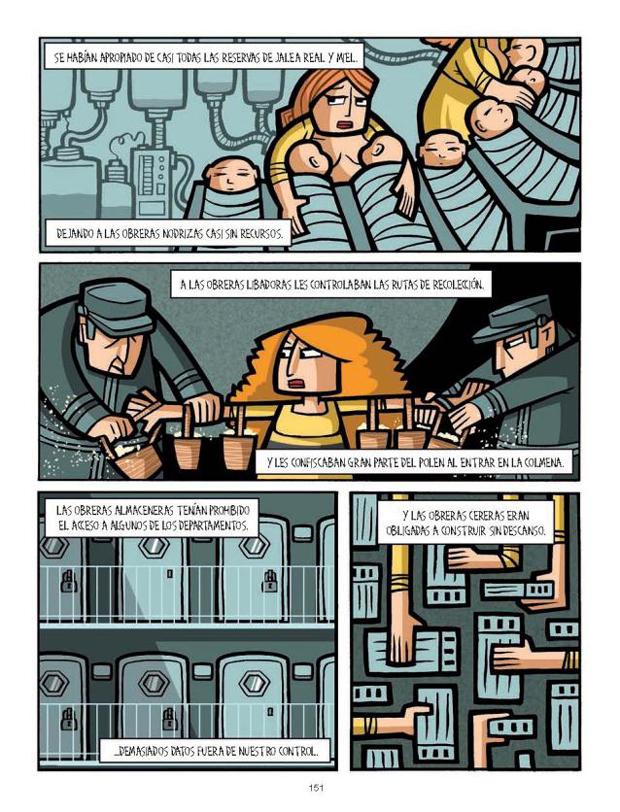 Cristina Durán – viñetas Cómic colectivo autoras Norma