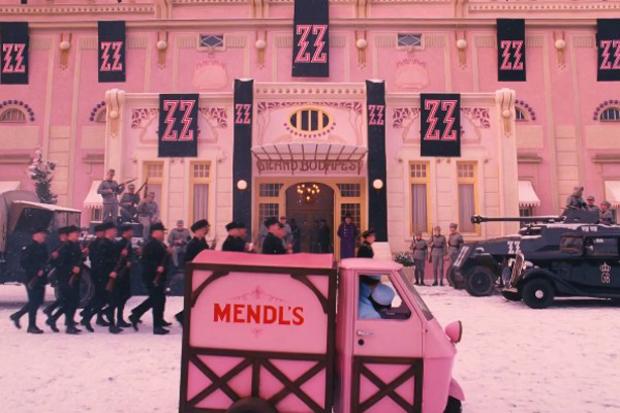 El diseño en El Gran Hotel Budapest