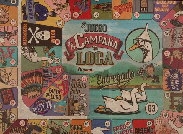 El Juego de la Campaña Loca – Binomi Creatividad