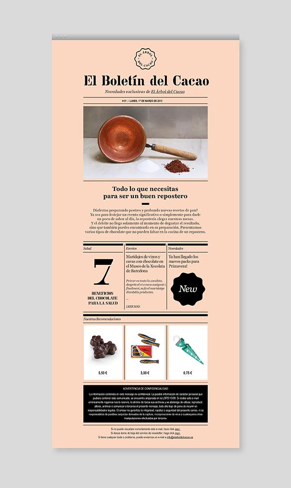 El Árbol del Cacao, Newsletter