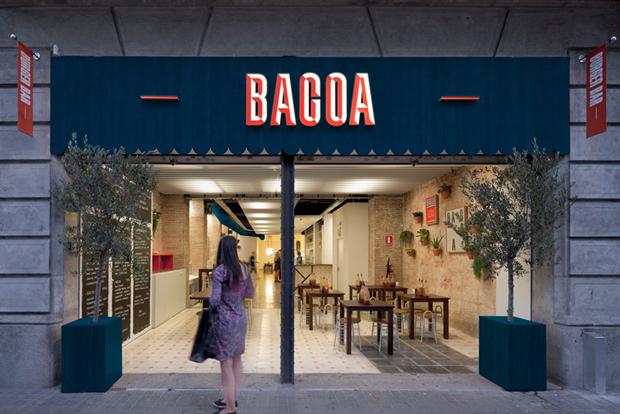 Bacoa - entrada hamburguesería BCN