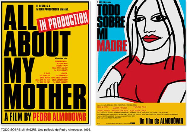 Óscar Mariné – carteles de cine para Almodóvar