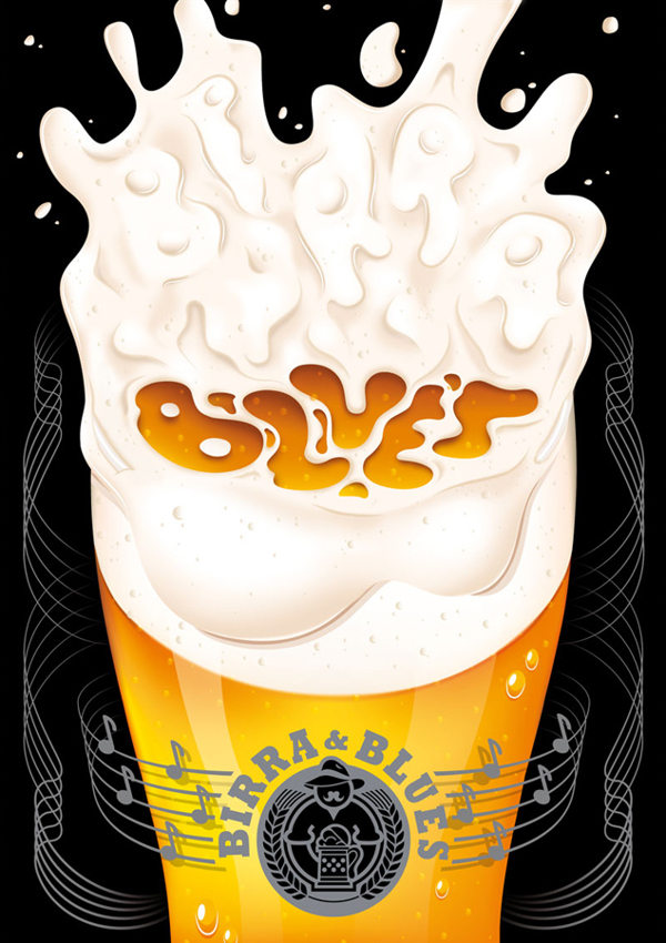 ilustración Birra & Blues