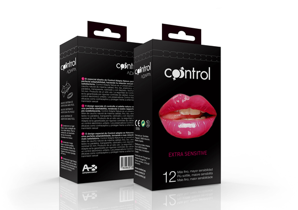 Diseño de packaging para Control