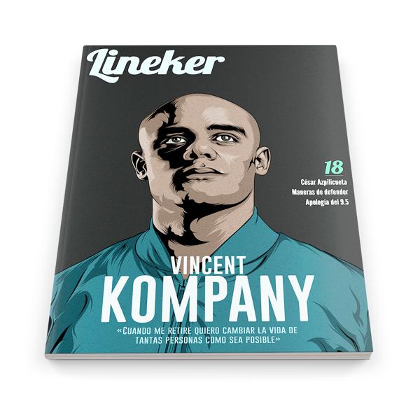 Portada de Lineker Magazine #18