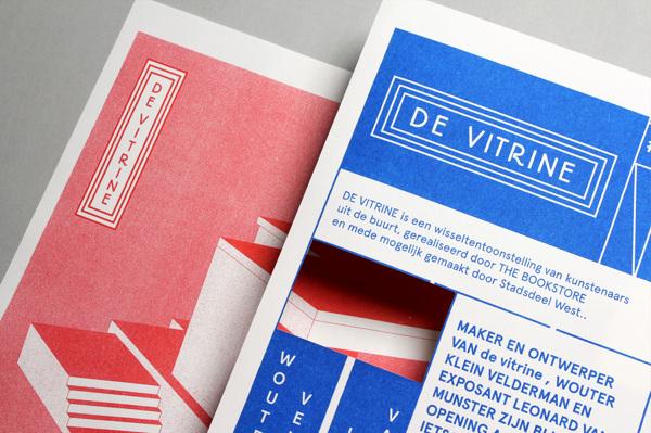 Diseño de identidad visual para De Vitrine Gallery