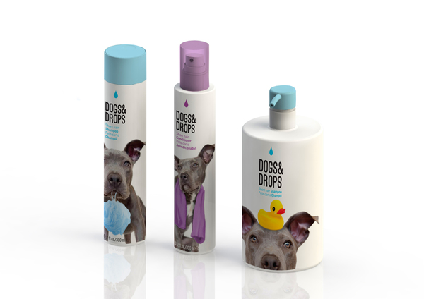 Diseño de packaging para Dogs and Drops