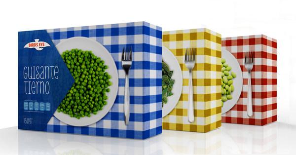 Diseño de packaging para Frozen Vegetables