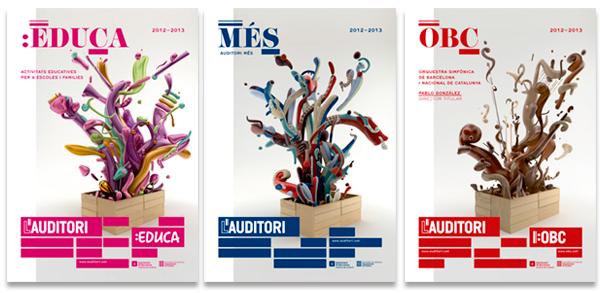 Diseño de carteles para L'Auditori