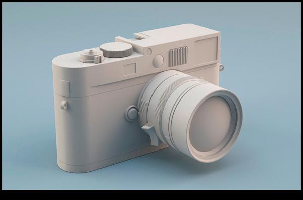 Cámara Leica en 3D