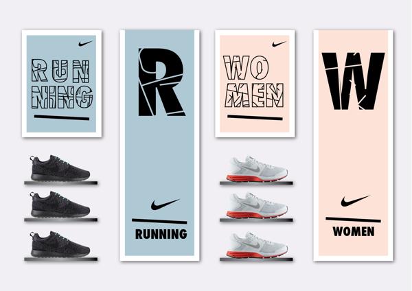 Diseño para Nike, JD Graphics