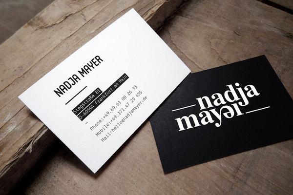 Diseño para la marca Nadja Mayer