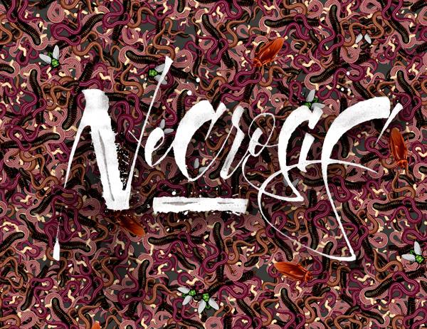 Ilustración para la marca Necrosis
