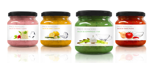 Diseño de packing para Paco Roncero Gourmet