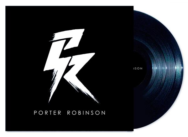 Diseño de portada de disco de Porter Robinson