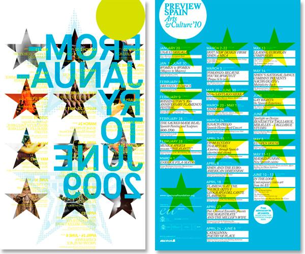 Diseño de carteles para Preview Spain 2010