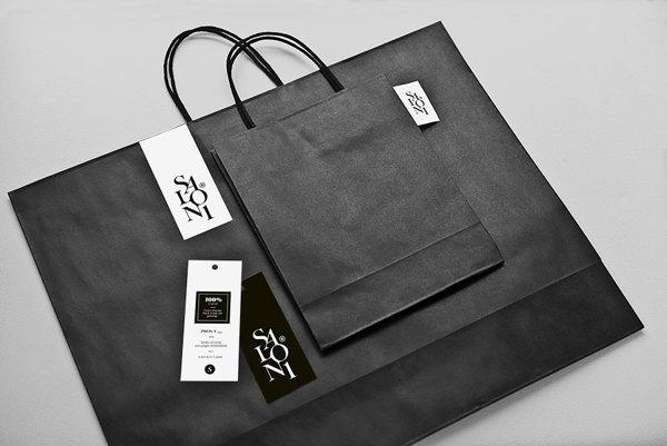 Diseño de bolsas y etiquetas para Salon 1