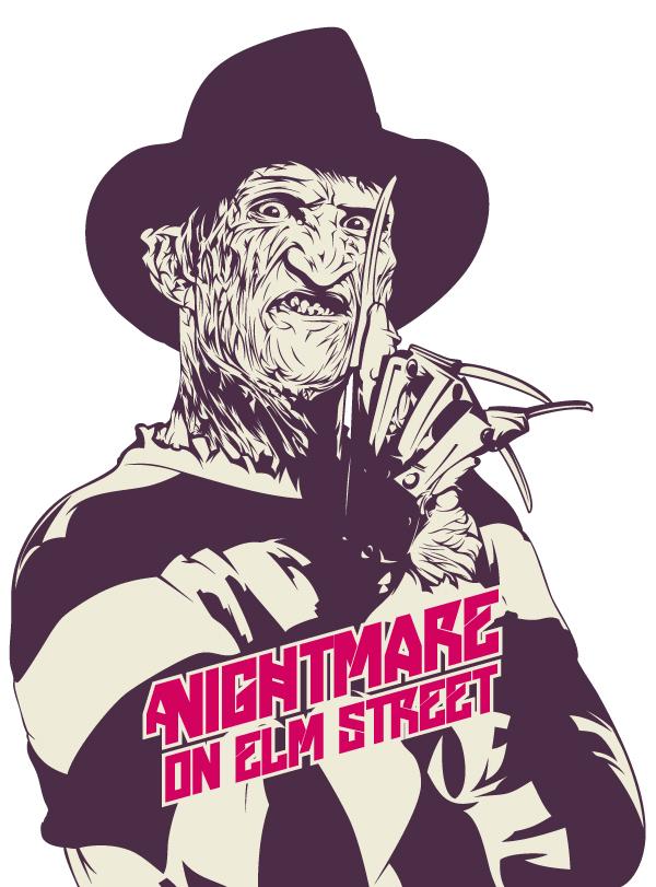 Ilustración del personaje Freddy Krueger