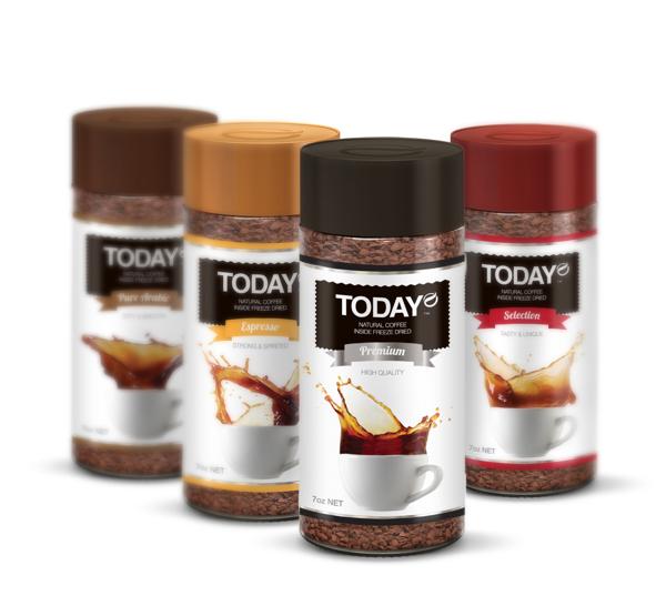 Diseño de packaging para Today Coffee