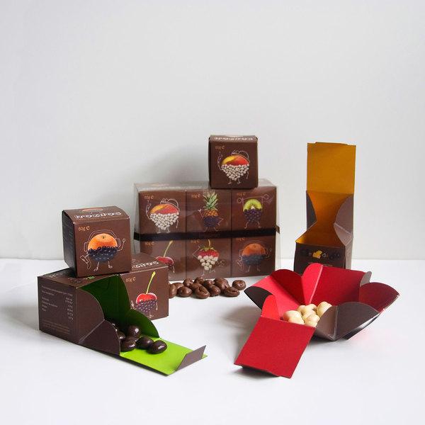Diseño de packaging para Trozitos