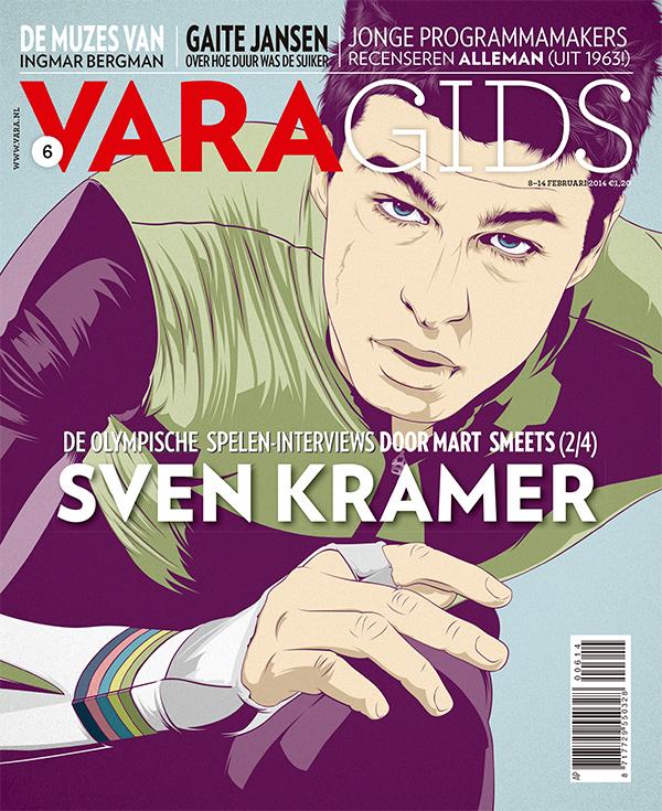 Ilustración para la portada de la revista VARAgids