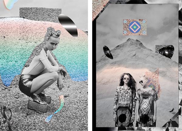 Diseño de carteles para VICE Spain - Sand & Mercu