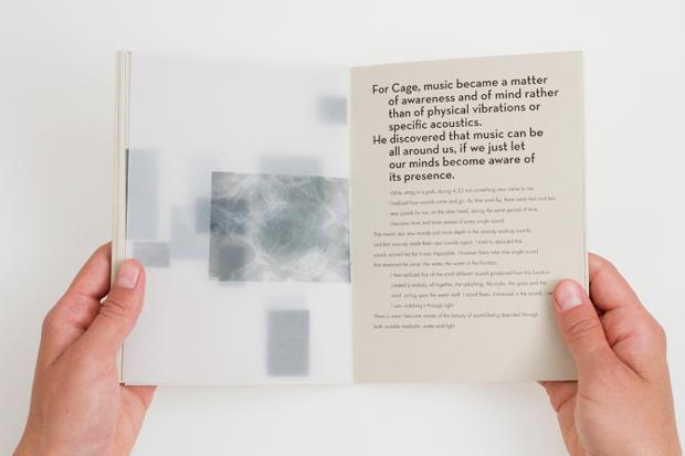 Diseño editorial, John Cage