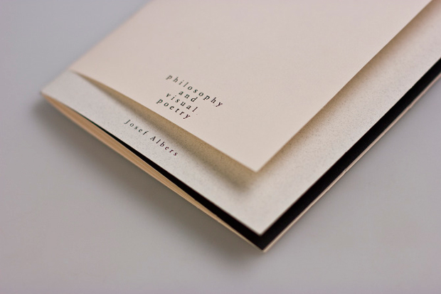 Diseño editorial, Josef Albers