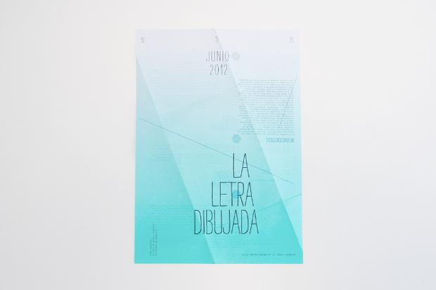 Diseño de cartel, Letra Dibujada