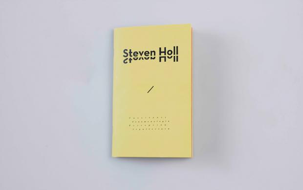 Diseño editorial Steven Holl