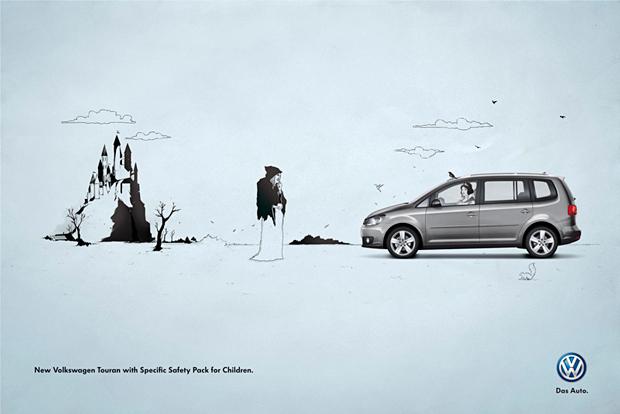 Pieza publicitaria para Volkswagen Touran