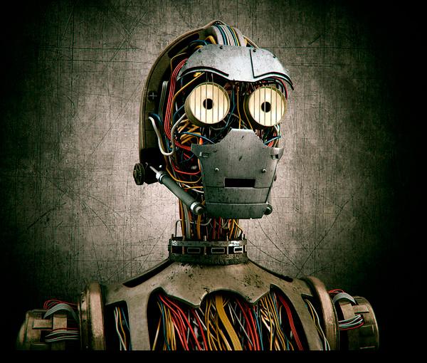 C-3PO en 3D