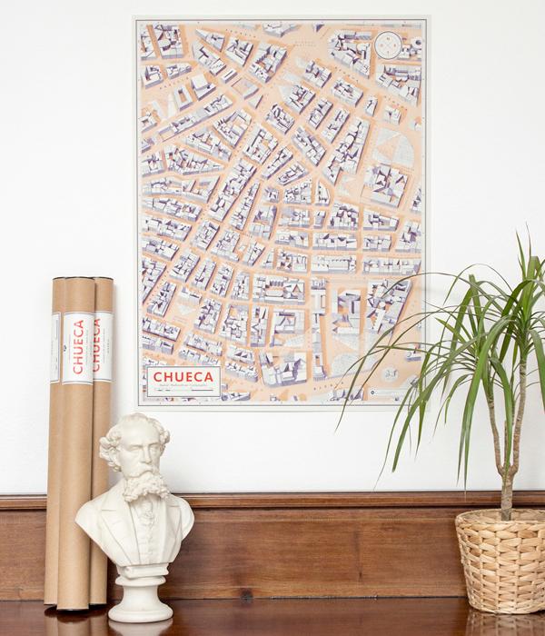 Diseño de plano de Chueca