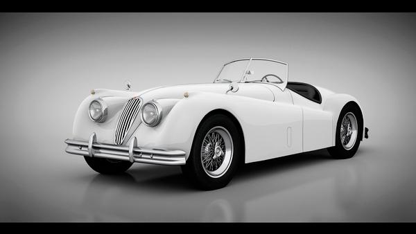 Jaguar en 3D
