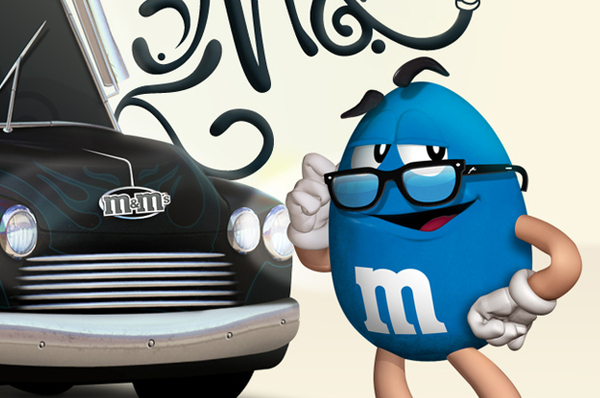 Ilustración para M&M's