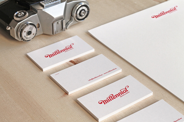 Diseño de aplicaciones de la marca Millennial