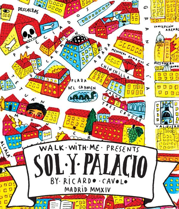 detalle del poster Sol y Palacio