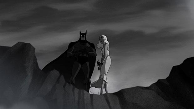 Batman Strange Days – fotograma del corto dirigido por Bruce Timm