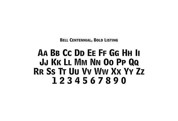 Matthew Carter – Bell Centennial