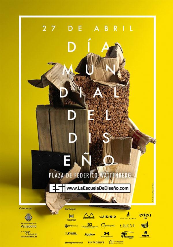Día Mundial del Diseño – cartel Valladolid