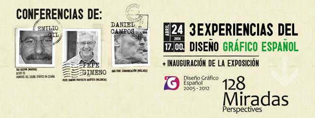 128 Miradas diseño gráfico español