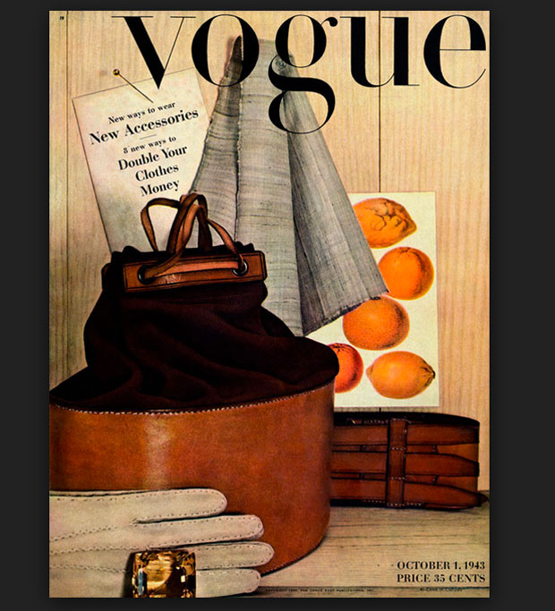 Irving Penn, portada Vogue 1943